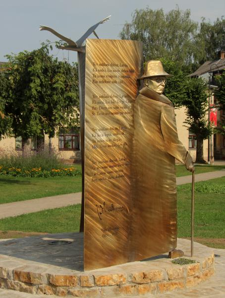 Monument of Vilis Plūdonis