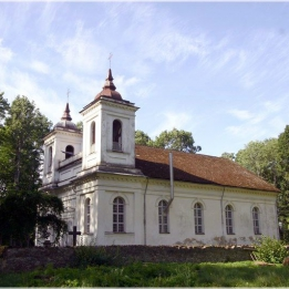 Kurmene manor complex and church